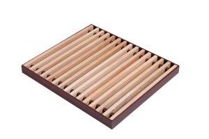 Buk listwa podest drewniany